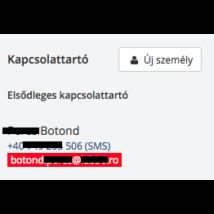 Miért fekete / piros az email cím? Hogyan aktiválhatjuk?