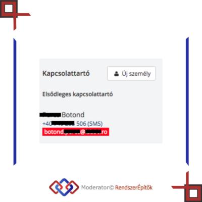 Miért fekete / piros a MiniCRM adatlapon az email cím? Hogyan aktiválhatjuk?