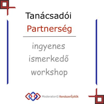 Tanácsadói partnerség workshop