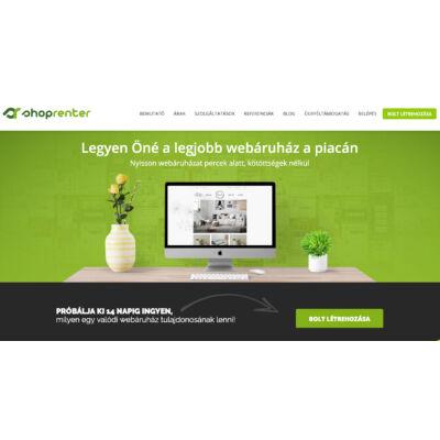 Shoprenter - a MiniCRM-mel integrált webáruház